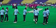 Sri Lanka Cricket Team Practicing
