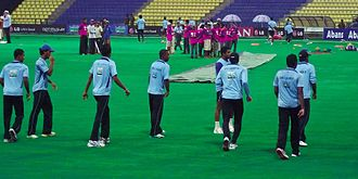 Pallekele International Cricket Stadium - Image: Sri Lanka Cricket Team Practicing