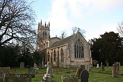 St.Nicholas' church, Fulbeck, Lincs - geograph.org.uk - 101668.jpg