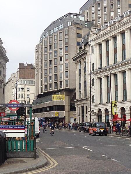 St Giles Hotel London Uk