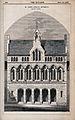 St. John's Schools, Liverpool, Merseyside. Wood engraving by Wellcome V0012852.jpg