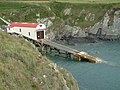 St. Justinian lifeboat station and slipway, Pembrokeshire - geograph.org.uk - 477599.jpg