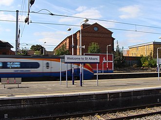 St Albans City railway station - Image: St Albans Rail Station PS01
