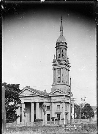 Archibald Clark (politician) - St Andrew's Presbyterian Church, Auckland