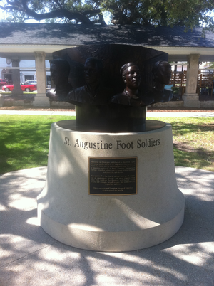 St. Augustine movement - St. Augustine Foot Soldiers Monument, dedicated May 14, 2011