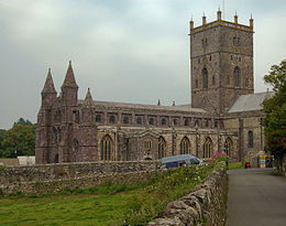 St Davids Cathedral Wales Pembrokeshire.jpg