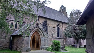 Tinsley, South Yorkshire - Image: St Lawrence, Tinsley