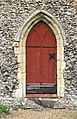 St Margaret's church - the priest door - geograph.org.uk - 1366653.jpg