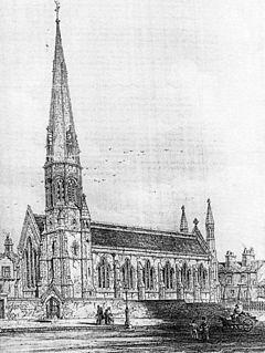 St Thomas Church, Lancaster Church in Lancashire, England