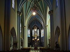 St Vincent de Paul Church (interior), 19 sw. Flipa street, Kleparz, Krakow, Poland.jpg