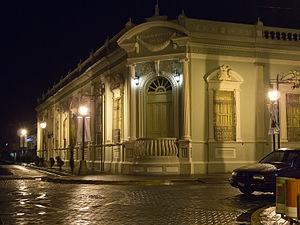 Sta Tecla Palacio Bellas artes noche 2012
