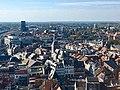 Stadszicht Hasselt met Virga-Jessebasiliek, gerechtsgebouw en oude Posterijen.jpg