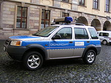 Patrol Car Of Ordnungsamt Fulda, Germany