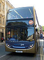 Stagecoach in Oxfordshire bus 15618 (OU10 BGX) 2010 Scania N230UD Alexander Dennis Enviro400, Oxford, 9 April 2011.jpg