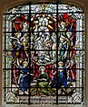 Stained glass window, All Saints' church, Gainsborough (18005564270).jpg