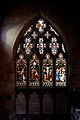 Stained glass window, St Michael's Church, Chester 1.jpg
