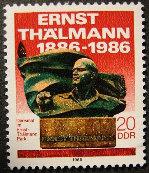 Stamp DDR Ernst Thälmann
