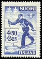 Stamp of Kalle Heikkinen 1945.jpg