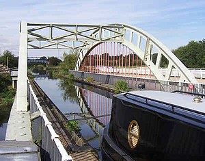 Stanley Ferry Aqueduct - Image: Stanley Ferry Aqueduct