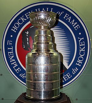 Stanly Cup in Hockey Hall of Fame