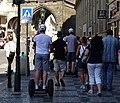 Staré Město, Celetná, Prašná brána, segway (02).jpg