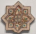 Star tile from Iran, Ilkhanid period, Honolulu Museum of Art I.JPG