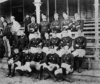 Rugby union in Australia - The NSW team, 1883.