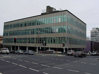 State Library of Tasmania library building in Hobart, Australia