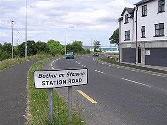 Carndonagh railway station - Station Road, Carndonagh.