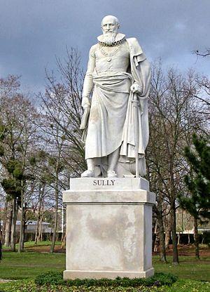 Jean-Joseph Espercieux - statue of Maximilien de Béthune, Duke of Sully