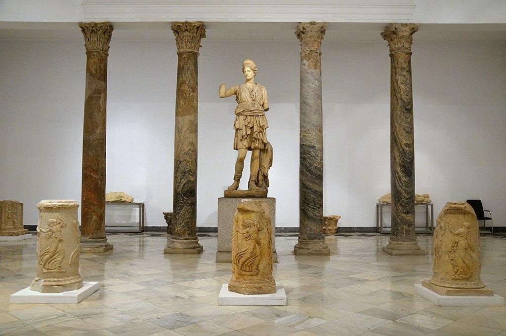 Statue de Diana dans le musée archéologique de Séville. Photo de Carole Raddato