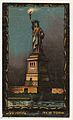 Statue of Liberty, New York, from the Transparencies series (N137) issued by W. Duke, Sons & Co. to promote Honest Long Cut Tobacco MET DP865653.jpg