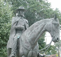 Statue of bishop Francis Asbury (Wilmore, Kentucky).jpg
