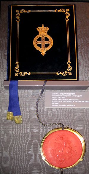 Order of the Garter - Statutes of the Order of the Garter