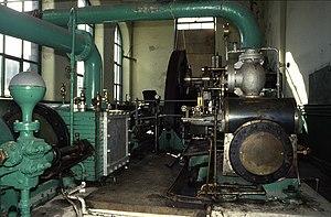 Weavers' Triangle - Steam engine, Oak Mount Mill