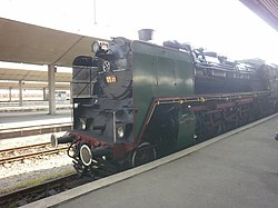 Steam locomotive Sofia - Bankya, Bulgaria.jpg