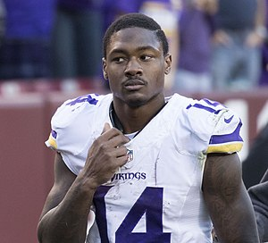 Stefon Diggs - Diggs with the Minnesota Vikings in 2016