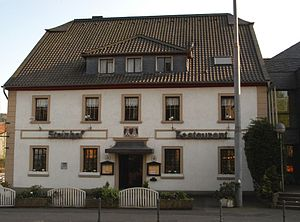Overath - The Steinhof, a restaurant today, is the oldest settlement in Overath. The current building was constructed in 1662.