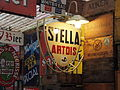 Stella Artois enamel advertising sign, pic2.JPG