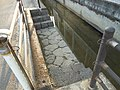 Step of waterway Saga Sayanomotomachi.JPG