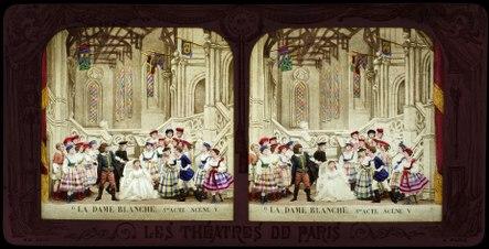 Stereokort, La Dame blanche 6, acte III, scène V - SMV - S166b.tif