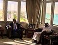 Steven Mnuchin and Central Bank Governor Al Thani Feb 2020.jpg