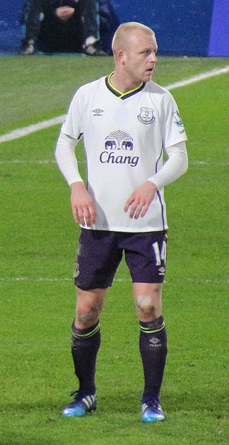 Steven Naismith - Naismith playing for Everton in 2015