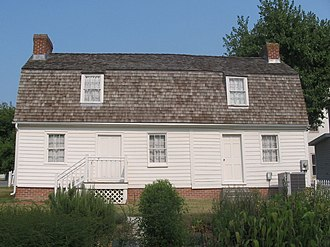Cray House (Stevensville, Maryland) - The rear of the house, seen in 2007.