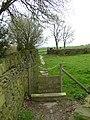Stile and footpath, Marsh Farm,Southowram - geograph.org.uk - 161392.jpg