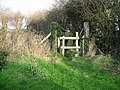 Stile for footpath. - geograph.org.uk - 317244.jpg