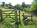 Stile on Greensand Way - geograph.org.uk - 1426275.jpg