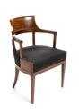 Stol, senempire, 1820-tal - Hallwylska museet - 108535.tif