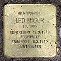 Stolperstein Aschaffenburger Str 22 (Wilmd) Leo Masur.jpg