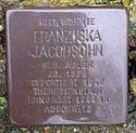 Stolperstein Bad Nenndorf Parkstraße 8 Franziska Jacobsohn